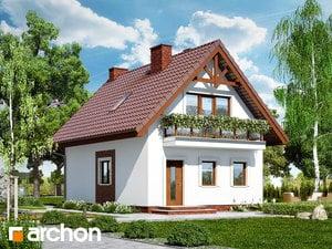 Projekt domu ARCHON+ Dom medzi poniklecmi