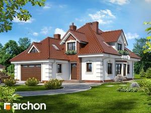 Projekt domu ARCHON+ Dom medzi orchideami