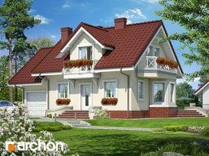 Projekt domu ARCHON+ Dom v medničke ver.3