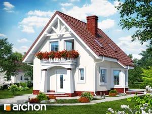 Projekt domu ARCHON+ Dom uprostred hrozna ver.2