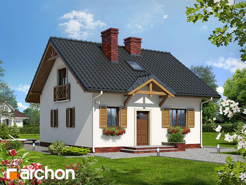 Dom - miniatúrka - Vizualizácia 1