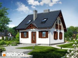 Projekt domu ARCHON+ Dom medzi čučoriedkami