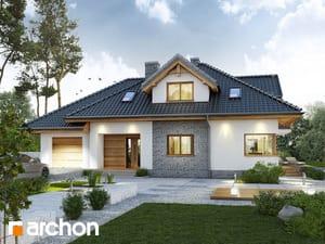 Projekt domu ARCHON+ Dom medzi kanami 3