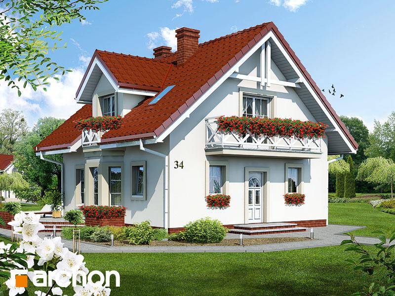 Dom medzi rododendronmi - Vizualizácia 1