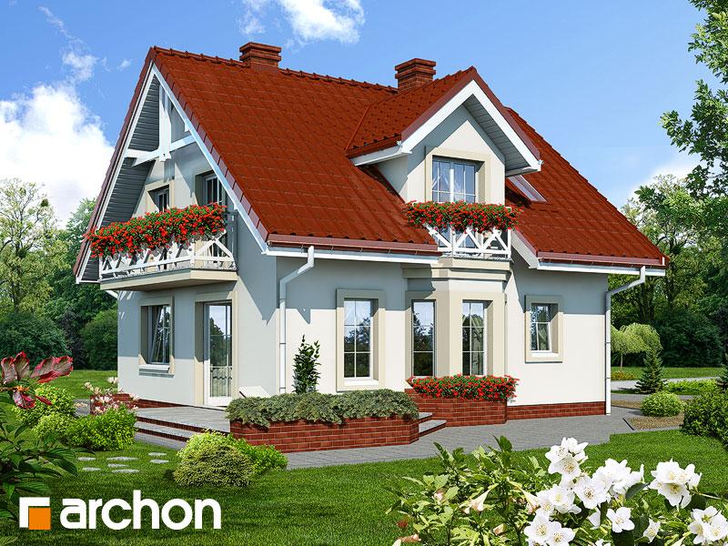 Dom medzi rododendronmi - Vizualizácia 2