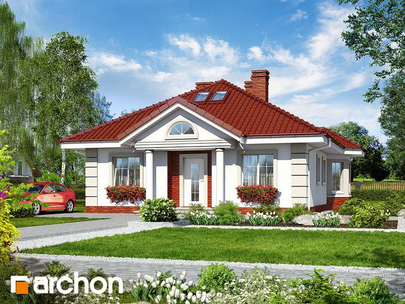 Dom pri rybníku - Vizualizácia 1