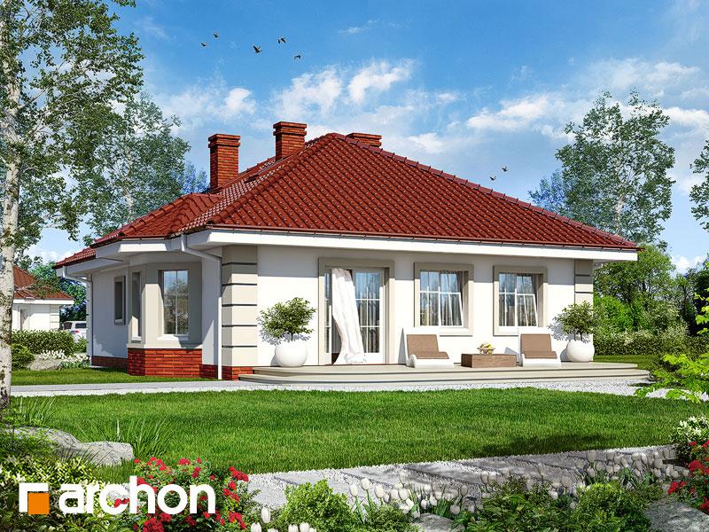 Dom pri rybníku - Vizualizácia 2