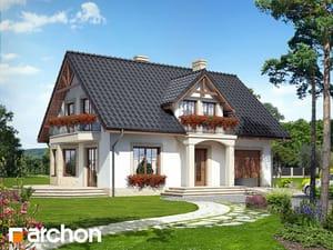 Projekt domu ARCHON+ Dom medzi aksamietnicami 2