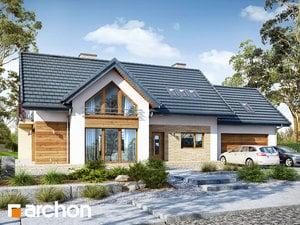 Projekt domu ARCHON+ Dom pod datlovníkom (G2) ver.2