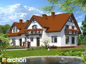 Projekt domu ARCHON+ Penzión pri fontáne