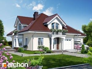 Projekt domu ARCHON+ Dom medzi tymiánom 2