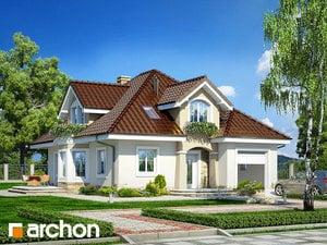 Projekt domu ARCHON+ Dom medzi smolničkami