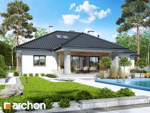 Projekt domu ARCHON+ Dom v akébii 5