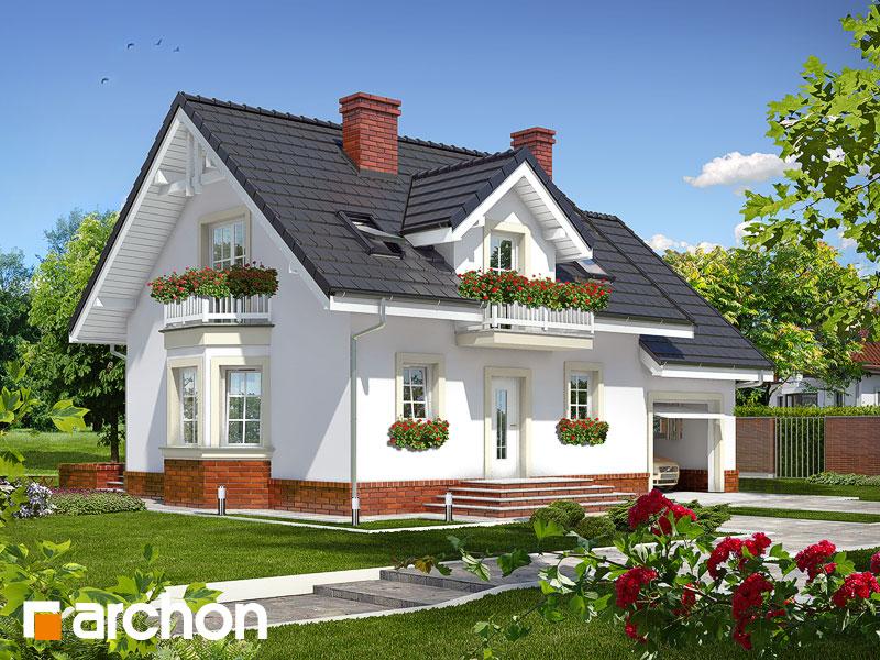 Dom medzi rododendronmi 15 ver.2 - Vizualizácia 1