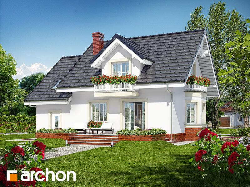 Dom medzi rododendronmi 15 ver.2 - Vizualizácia 2