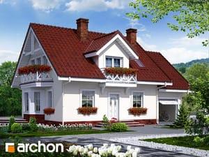 Projekt domu ARCHON+ Dom medzi rododendronmi 6
