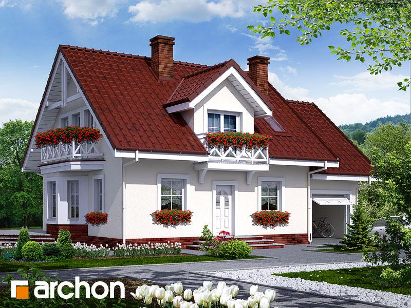 Dom medzi rododendronmi 6 - Vizualizácia 1