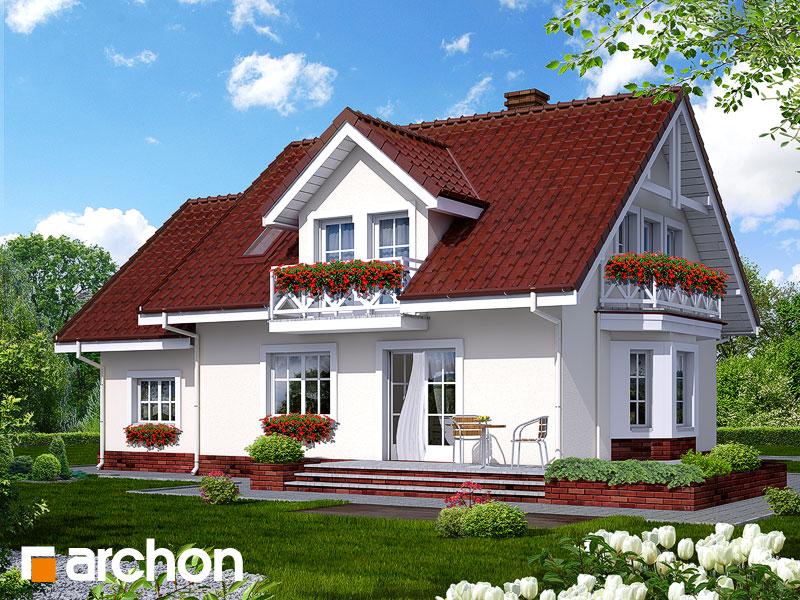 Dom medzi rododendronmi 6 - Vizualizácia 2