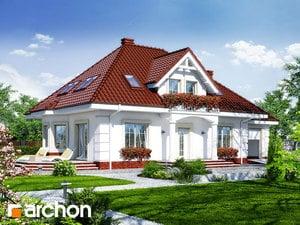 Projekt domu ARCHON+ Dom medzi aksamietnicami 3