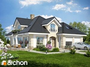 Projekt domu ARCHON+ Dom uprostred zbehovca (G2)