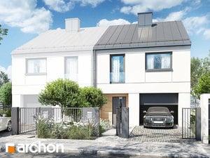Projekt domu ARCHON+ Dom pod ginkom 12 (GB)