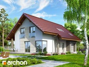 Projekt domu ARCHON+ Dom vo vistériách 2 ver.2