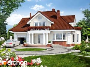 Projekt domu ARCHON+ Dom v zemoleze