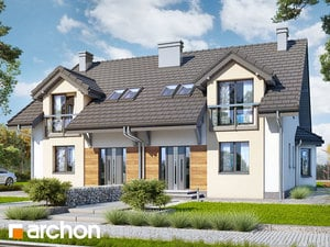 Projekt domu ARCHON+ Dom medzi stračími 3