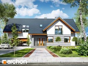 Projekt domu ARCHON+ Dom medzi lopatkovcami 2 (G2)