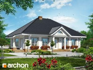 Projekt domu ARCHON+ Dom pod jarabinou 4