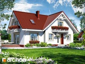 Projekt domu ARCHON+ Dom medzi skalníkmi