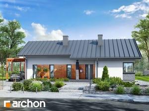 Projekt domu ARCHON+ Dom v plumériách 2