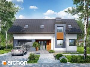Projekt domu ARCHON+ Dom medzi brezami