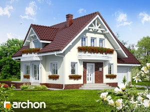 Projekt domu ARCHON+ Dom pod jabloňou antonovka 2 (G) ver.2