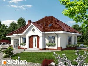 Projekt domu ARCHON+ Dom uprostred lotosu (G)