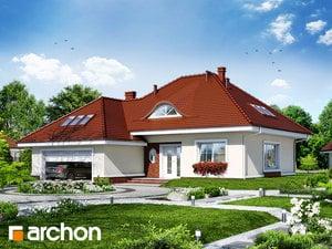 Projekt domu ARCHON+ Dom uprostred melónov