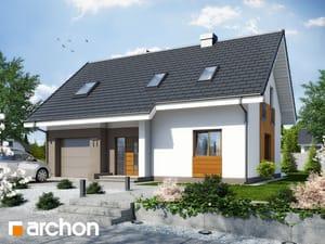Projekt domu ARCHON+ Dom v limetkách ver.2