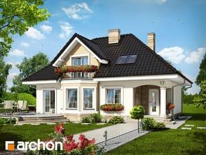 Projekt domu ARCHON+ Dom medzi avokádom
