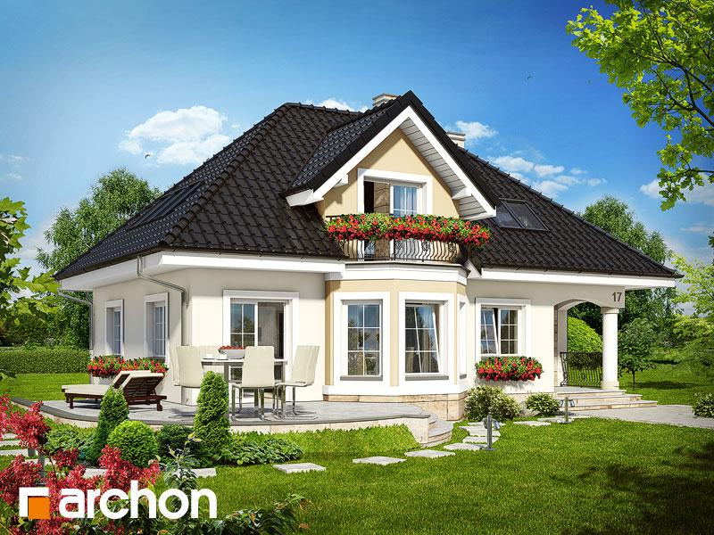 Dom medzi avokádom - Vizualizácia 2