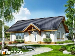 Projekt domu ARCHON+ Dom medzi arnikou