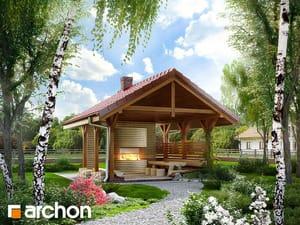 Projekt domu ARCHON+ Altán na gril A2