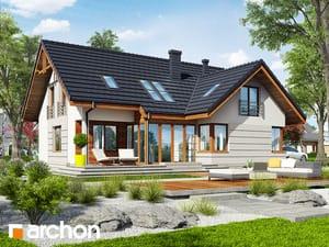 Projekt domu ARCHON+ Dom uprostred chmeľu