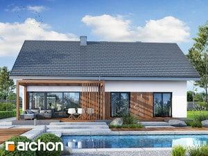 Projekt domu ARCHON+ Dom pod jarabinou 20