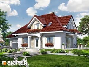 Projekt domu ARCHON+ Dom uprostred železníkov 4