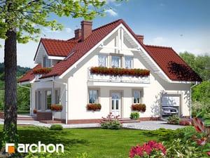 Projekt domu ARCHON+ Dom medzi rododendronmi 2 (P)