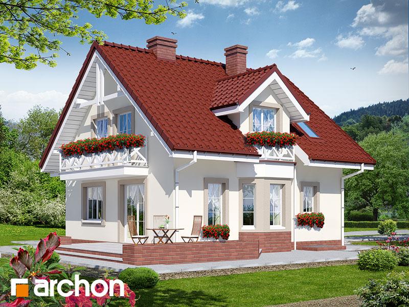 Dom medzi rododendronmi 2 (P) - Vizualizácia 2