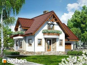 Projekt domu ARCHON+ Dom pod jabloňou antonovka (GP)
