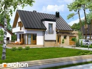 Projekt domu ARCHON+ Dom v amarilkách