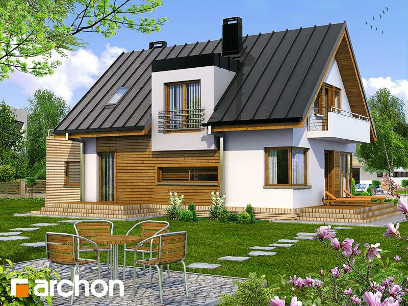 Dom v amarilkách - Vizualizácia 2