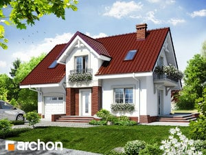 Projekt domu ARCHON+ Dom v portulakách